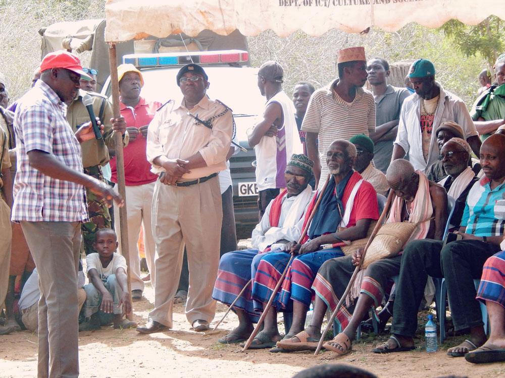 Land Grabbing Campaign